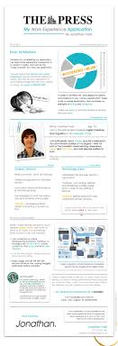 Infographic Resume Examples 100 Beautiful Infographic Resumes That Will Inspire You Visual 33