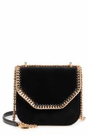 Stella Mccartney Shoulder Bags | Nordstrom & Stella McCartney Mini Falabella Box Velvet Shoulder Bag Adamdwight.com