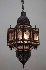 large moroccan star shape light fixture for 1
