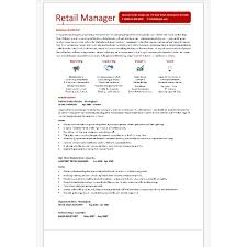 Cv Retail Retail Manager 2 Page Cv Is Yours In 3 Steps