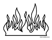 Small Picture Coloring Page Fire exprimartdesigncom