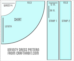 Infinity Dress Pattern Mesmerizing Infinity Dress Pattern Google Search Dress Pinterest