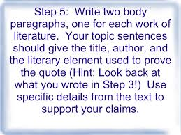 steps to writing the critical lens essay  epictetus 5
