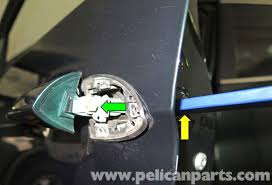 pull the door handle out