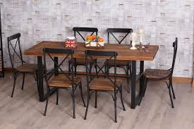 metal and wood kitchen chairs 39 iron luxury wrought rtty1 interior design 11