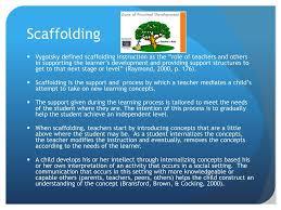 Scaffolding Definition Vygotsky Ppt Learning Theory Vygotsky Powerpoint Presentation Id