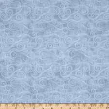 108  Wide Quilt Back Flannel Swirly Scroll Gray from @fabricdotcom ... & 108
