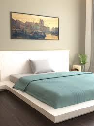 mark home fluorescent green striped 400 tc cotton single bed duvet cover