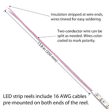 Conductor Marking Lights Ultra High 95 Cri Led Strip Lights For Home Residential