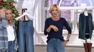 Laurie Felt Curve Silky Denim Straight Leg Jeans On Qvc