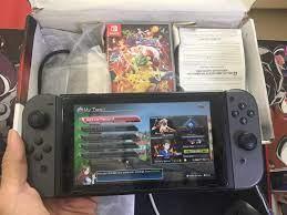 Máy Nintendo Switch Gray cũ kèm game Pokken
