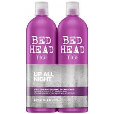 gift tigi bed head fully loaded mive volume shoo conditioner tween 750ml