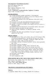Industrial Maintenance Mechanic Sample Resume Industrial Maintenance Mechanic Resume Samples Krida 17