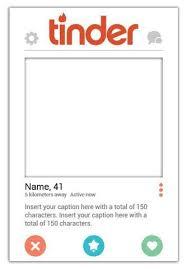 Tinder Profile Template Gotemplates