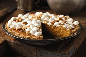 sweet potato pie with marshmallows. Beautiful Pie Sweet Potato Pie For With Marshmallows