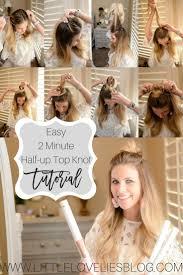 Top Knot Hair Style best 25 half top knot ideas half up bun half bun 8233 by wearticles.com