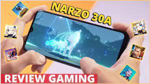 Điện thoại 3 triệu có chơi được Genshin Impact, test liền với narzo 30A -  YouTube