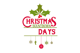 Thank you for visiting caluya design free svg website! Christmas Countdown Svg Cut File By Creative Fabrica Crafts Creative Fabrica