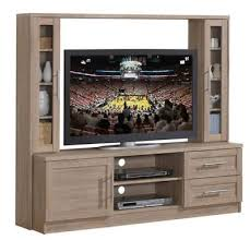 Rustic Entertainment Center Small Farmhouse TV Stand Wall Unit 55 Inch  Screen Rustic Entertainment Center T1
