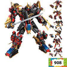 Bộ đồ chơi Lego lắp ráp Robot Samurai biến hình 6 trong 1 – Sansan Store –  Chuyên đồ chơi lego lắp ráp, nước hoa, giảm cân