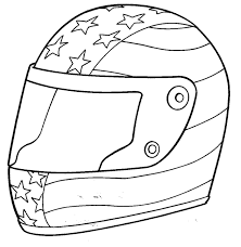 Small Picture Nascar coloring pages driver helmet ColoringStar