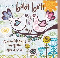 Congratulations On Your Baby Boy Congratulations On Your New Arrival Baby Boy Card Karenza Paperie