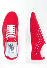 vans shoes red and white. vans men low-top trainers iso 1.5 - red/true white,vans shoes red and white