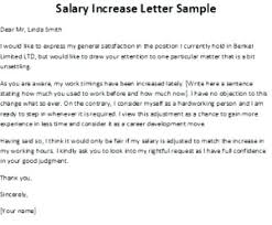 Salary Increase Letter From Employer To Template Sample Rece