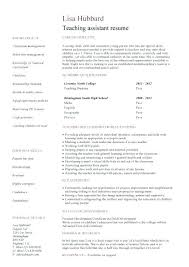 Teacher Assistant Resume Classy Sample Resume Curriculum Vitae For Teacher Assistant Teaching Cv