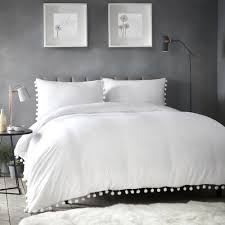 details about appletree pearl white duvet cover set single