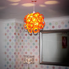 funky lighting. Loopy-Lu Orange Lamp Shade Funky Lighting H