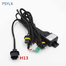 hi lo hid 9007 wiring harness wiring diagram mega detail feedback questions about fsylx car h13 9004 9007 h4 hi lo hi lo hid 9007 wiring harness