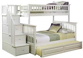 skill loft bed with trundle com atlantic furniture columbia staircase bunk