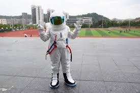High Quality <b>Space suit mascot costume</b> Astronaut mascot costume ...
