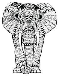elephant coloring pages best cute baby