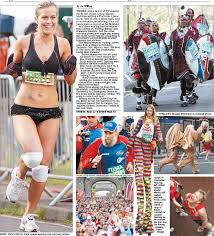 Ninety% of kate lawler, the almost anorexic, has love handles? Runaway Champions Big Brother S Kate And Buster 101 Among London Marathon Heroes Pressreader