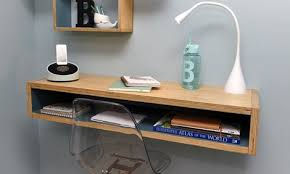 Floating shelf desk Diy Diy Timber Floating Wall Desk Pcfixerinfo How To Make Diy Timber Floating Wall Desk Bunnings Warehouse