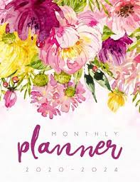 2020 2024 Monthly Planner 2020 2024 Planner Monthly