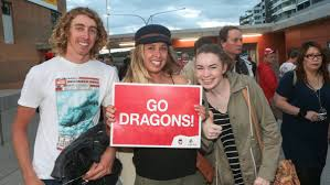 time out in the illawarra social photos illawarra mercury brodie talbot josie talbot and holly heffernan at the dragons vs manly game at win