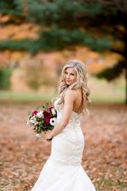 wedding photos by saint louis wedding photographer ashley fisher photography bridal portrait in fall at forest park in st louis mo