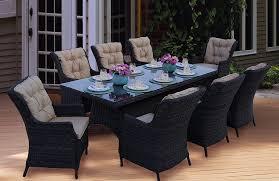 agio international panorama outdoor 9 piece high dining patio set. amazon.com: darlee 9 piece valencia wicker rectangular dining set with cushions, 40\u0027\u0027 x 92\u0027\u0027: garden \u0026 outdoor agio international panorama high patio e