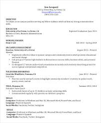 College Student Resume Template Word Unique College Student