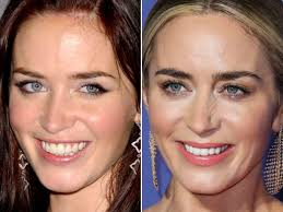 emily blunt before and after from 2004