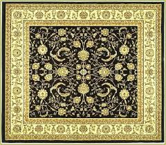 square area rugs best of 6x6 rug black