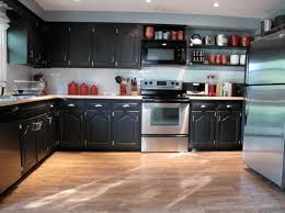 black painted kitchen cabinets ideas. Delighful Cabinets Black Painted Kitchen Cabinets Home Furniture Design To Ideas A