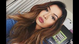 get ready with me natural glam makeup look itsmandarin