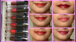 my top 6 lipstick under rs 50 hindi review swatches amway