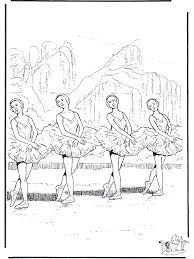 Ballet Coloring Pages Nukleurennl Allerlei Kleurplaten