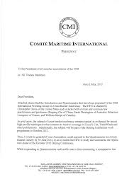 correspondence from the president comite maritime international rule vi salvage remuneration pdf