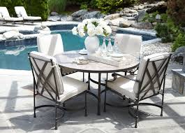 Biscayne Round Dining Table With Dark Porcelain Top   Ethan Allen. Outdoor  ...